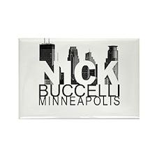 Nick Buccelli Skyline Rectangle Magnet (10 pack)