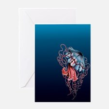 Jelly Fish 1 Greeting Card