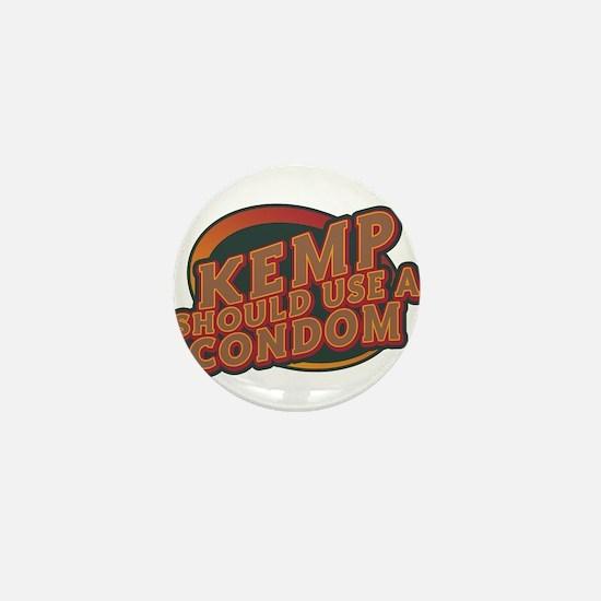 Kemp Should Use a Condom Mini Button (100 pack)