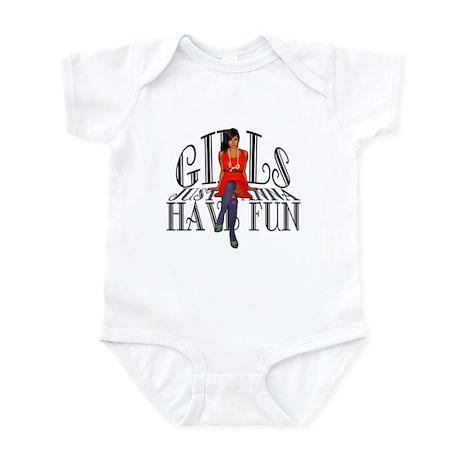 Girls Just Wanna Have Fun Infant Bodysuit