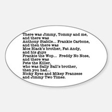 Goodfellas Quote Decal