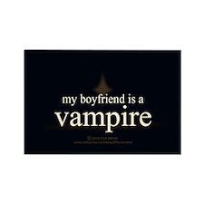 Boyfriend Vampire Eclipse Rectangle Magnet