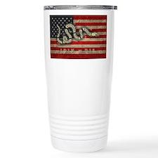 Join, Or Die -Flag Travel Mug