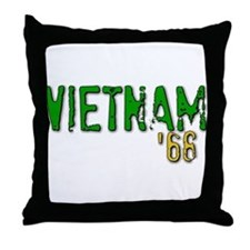 VIETNAM '68 Throw Pillow