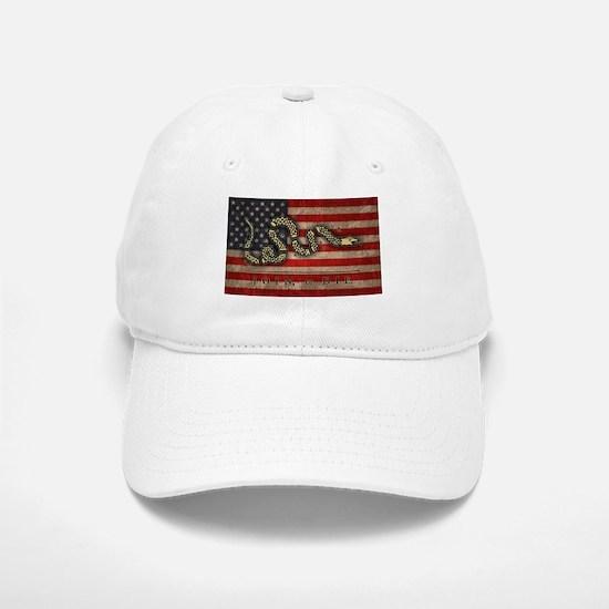 Join, Or Die -Flag Baseball Baseball Cap