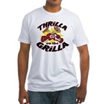 Thrilla on the Grilla Fitted T-Shirt