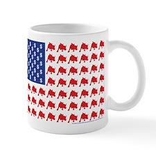 Patriotc Wall Street Flag Mug