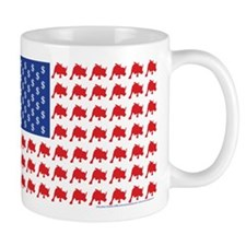 Patriotc Wall Street Flag Mug
