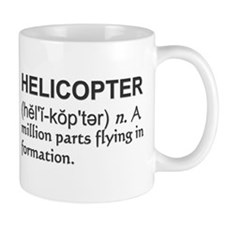 Helicopter Definition Mug