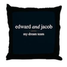 Edward Jacob Dream Team Throw Pillow