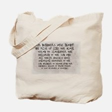 Our Numbers Tote Bag