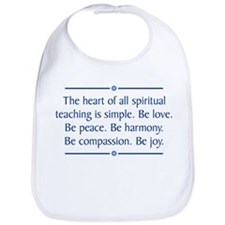 Spiritual Teaching Bib