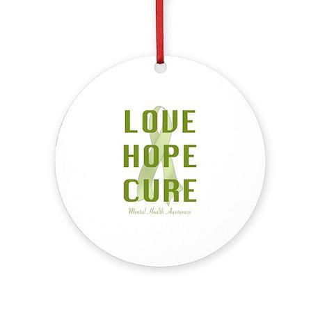 Mental Health (lhc) Ornament (Round)