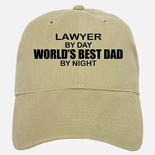 World's Best Dad - Lawyer Baseball Baseball Cap