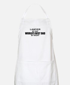 World's Best Dad - Lawyer Apron