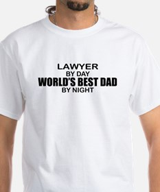 World's Best Dad - Lawyer Shirt