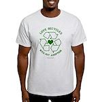 Love Recycles Light T-Shirt