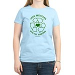 Love Recycles Women's Light T-Shirt