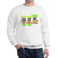 See No Hear No TIKI Sweatshirt