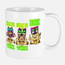 See No Hear No TIKI Mug