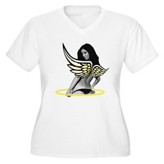 Angel Halo Wings T-Shirt