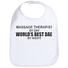 World's Best Dad - Massage Bib