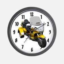 Funny Bike show Wall Clock