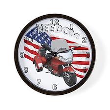 Funny Motorcycle trike Wall Clock