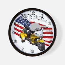 Cool Bike show Wall Clock