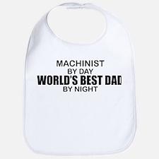 World's Best Dad - Machinist Bib