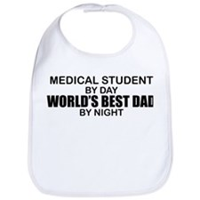 World's Best Dad - Medical Student Bib