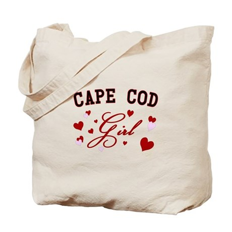 Cape Cod Girl Tote Bag