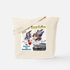 Cute Florida gators mens Tote Bag