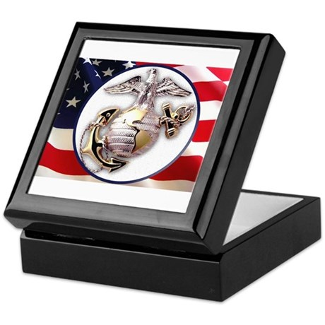 Keepsake Box Marines The Few The Brave
