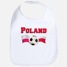 Little Polish Football Fan Bib