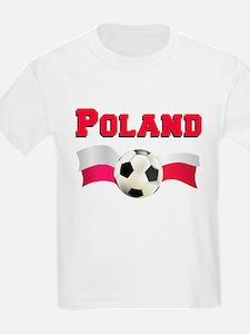 Little Polish Football Fan T-Shirt
