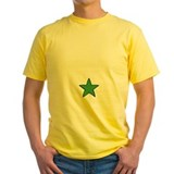 Star bellied sneetch Mens Yellow T-shirts