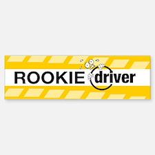 Rookie Driver - Bumper Bumper Sticker