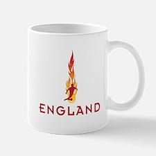 ENGLAND FLAMES Mug