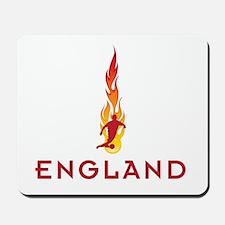 ENGLAND FLAMES Mousepad