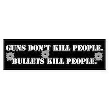 Bullets Bumper Stickers