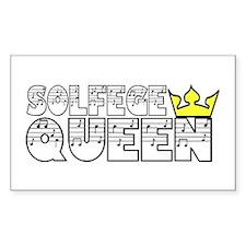 Solfege Queen Decal
