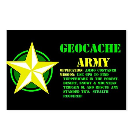Geocache Army Postcards (Package of 8)