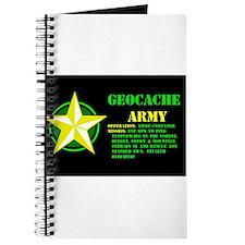 Geocache Army Journal