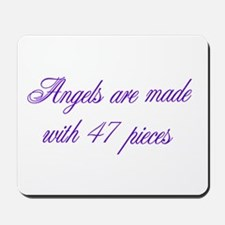 Angels are made... Mousepad