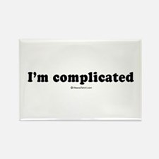 I'm complicated - Rectangle Magnet