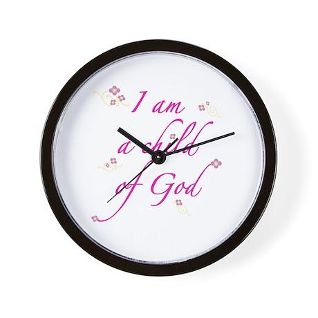 I am a child of God Wall Clock