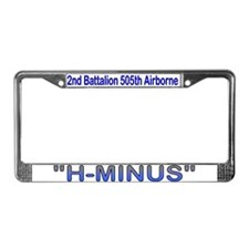 2nd Bn 505th ABN License Plate Frame