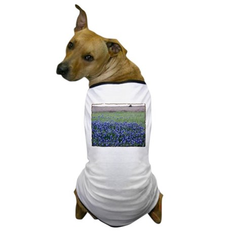 Blue Bonnets Dog T-Shirt