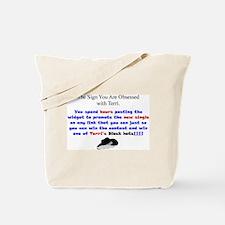 Terri Obsessed Tote Bag